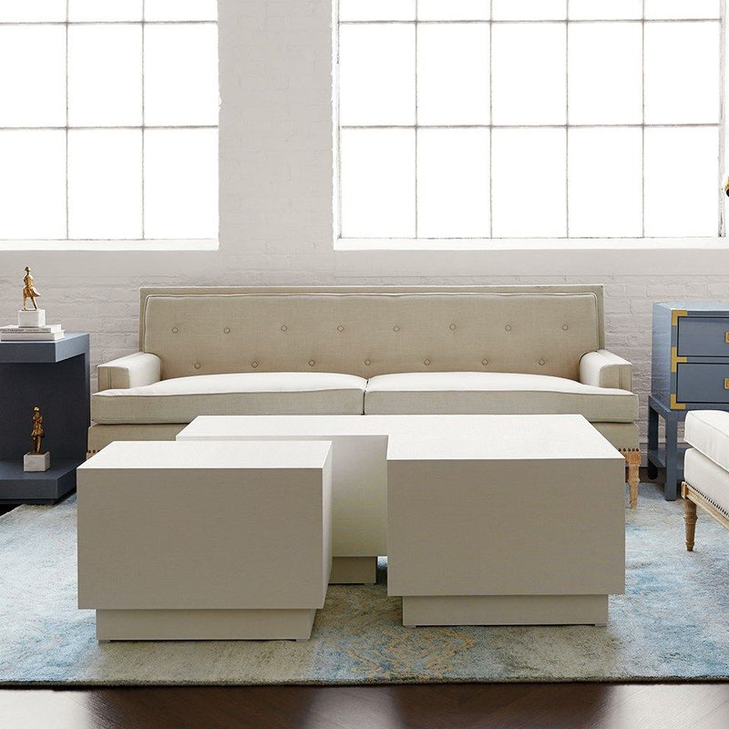 Bungalow 5 - MILA COFFEE TABLE, WHITE-Bungalow 5-Blue Hand Home