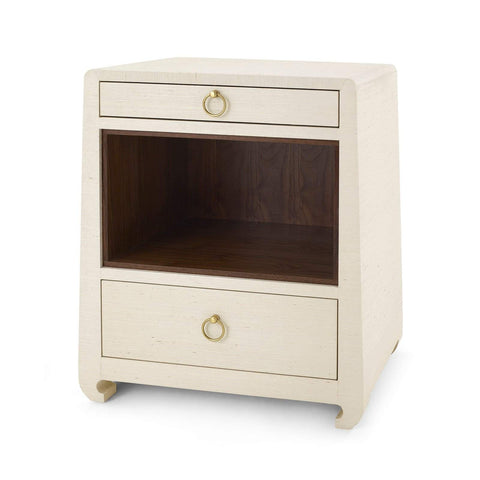 Bungalow 5 - MING 2-DRAWER SIDE TABLE in NATURAL - Blue Hand Home