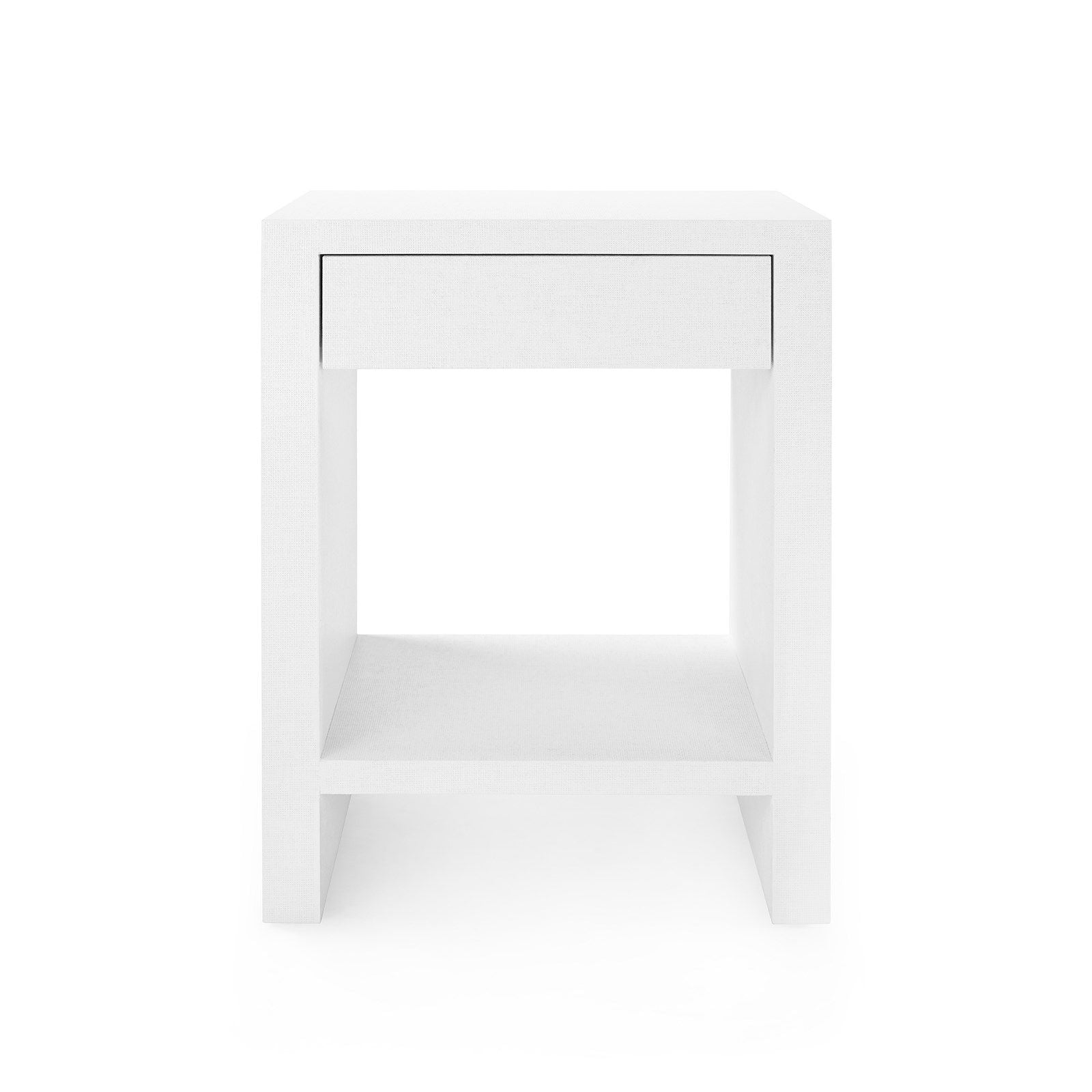 Bungalow 5 - MORGAN 1-DRAWER SIDE TABLE, WHITE
