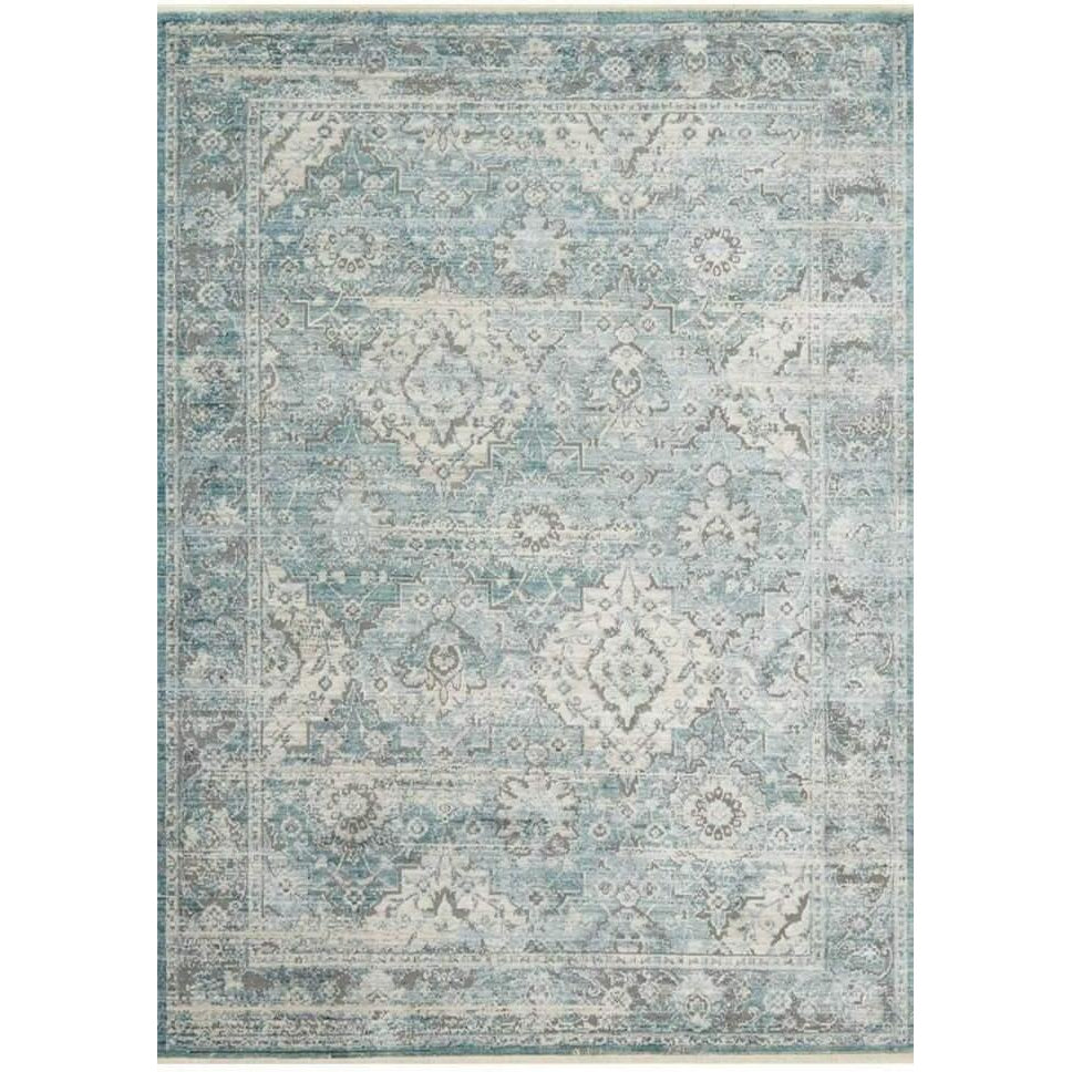 Joanna Gaines Of Magnolia Home Ophelia Rug Aqua/Grey