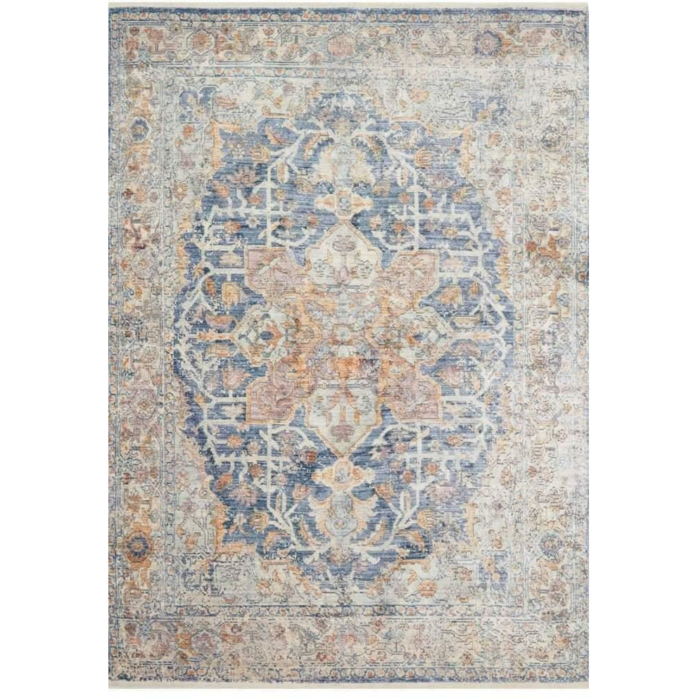 Joanna Gaines Of Magnolia Home Ophelia Rugs - Blue/Multi