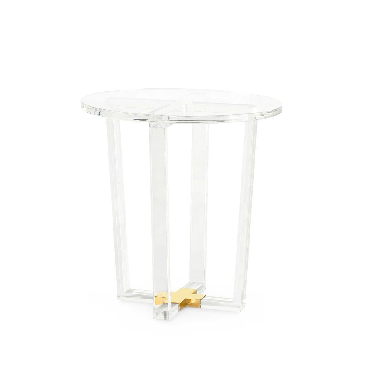 Bungalow 5 - Otis Side Table - Clear-Bungalow 5-Blue Hand Home