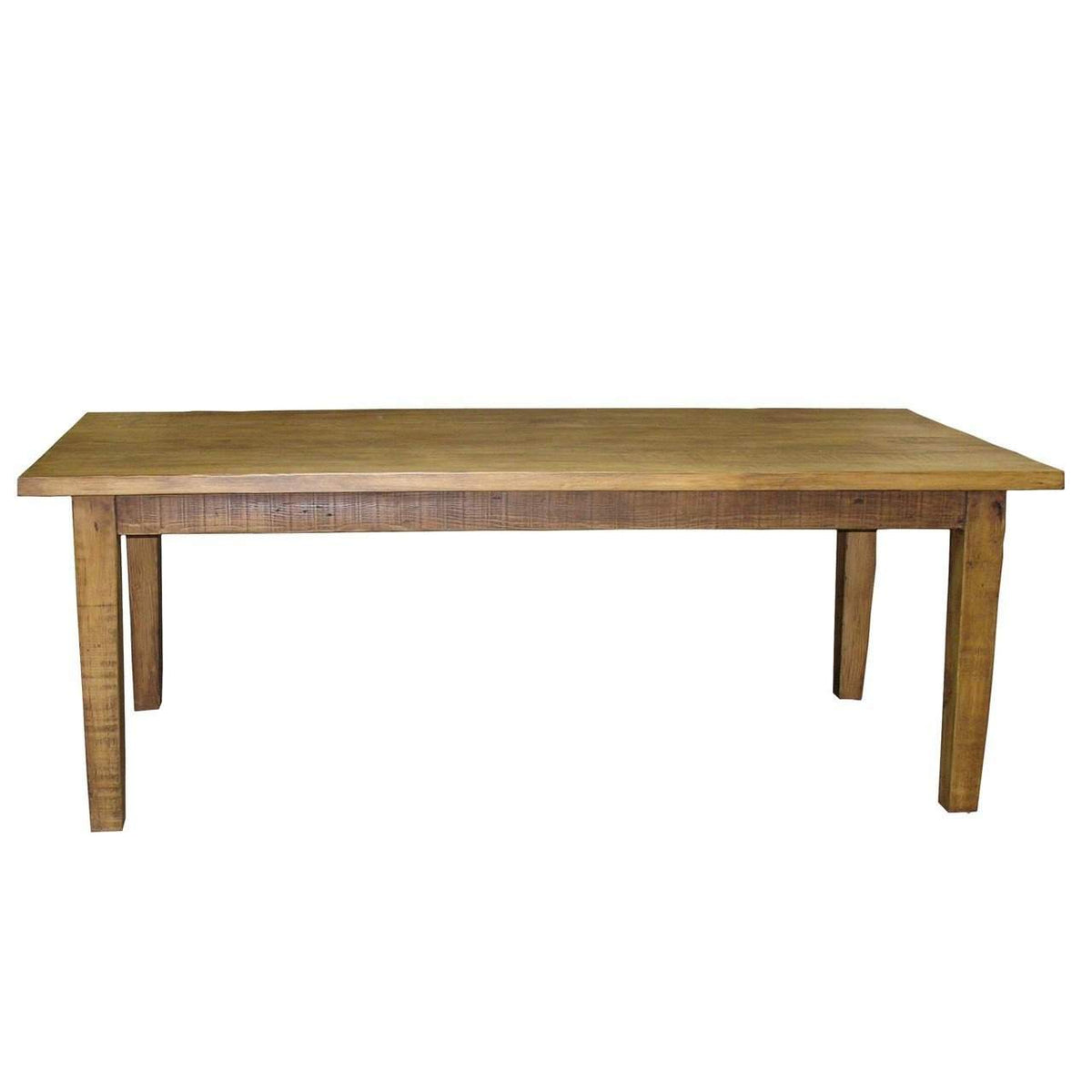 "CFC Furniture Reclaimed Lumber Farm Dining Table, 84""-CFC Furniture-Blue Hand Home"