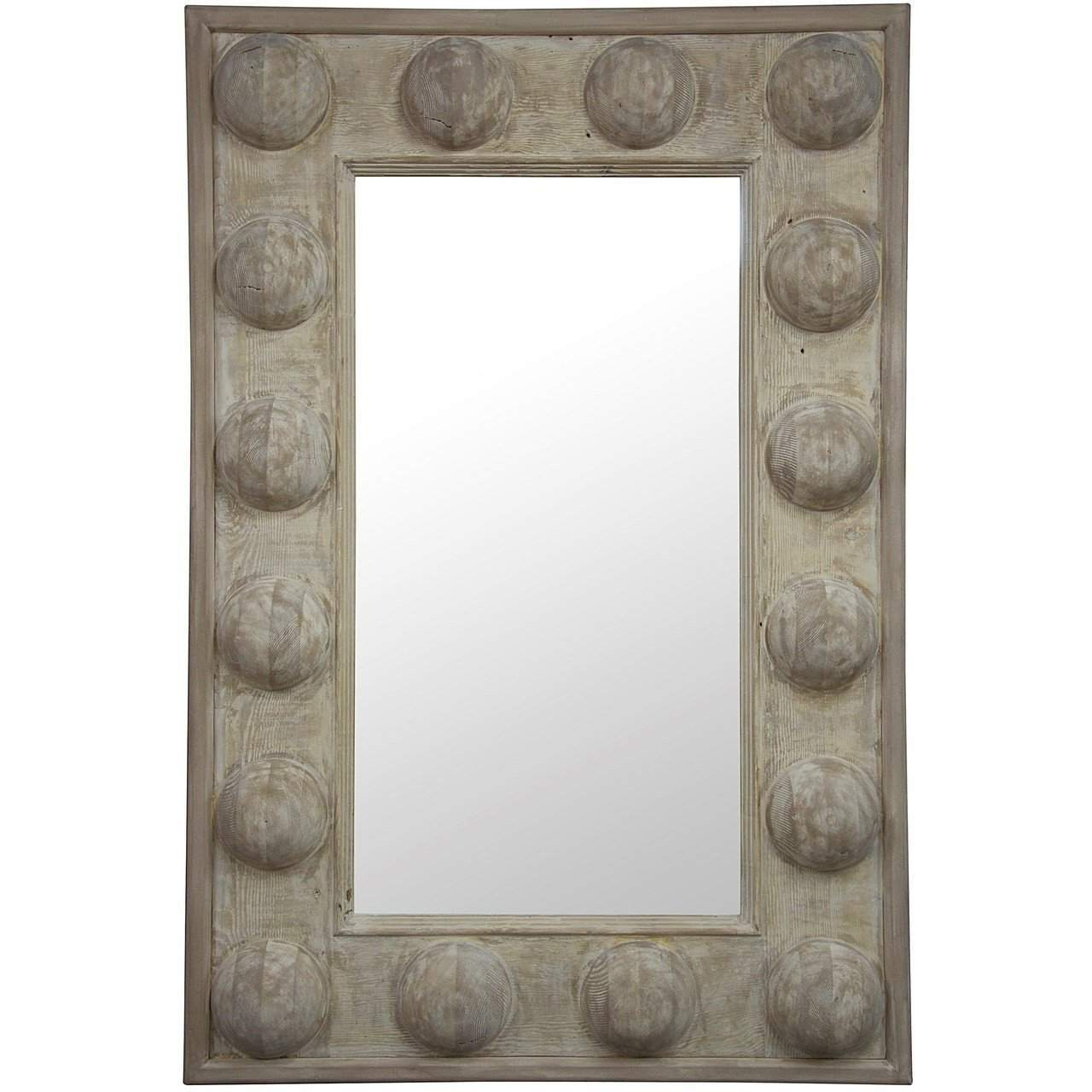 CFC Furniture Reclaimed Lumber Boulder Mirror