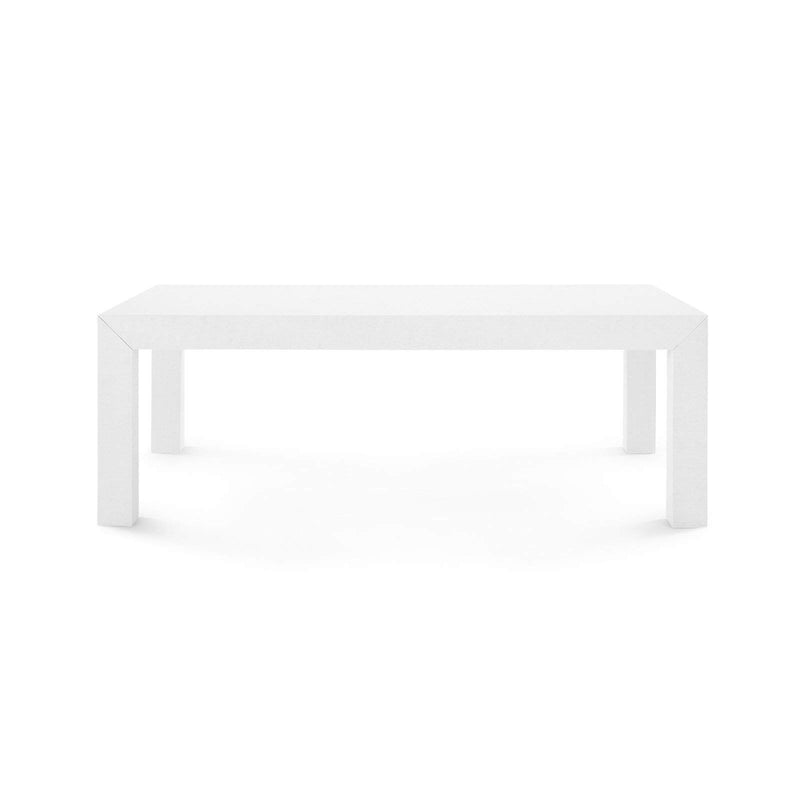 Bungalow 5 - PARSONS COFFEE TABLE in WHITE-Bungalow 5-Blue Hand Home