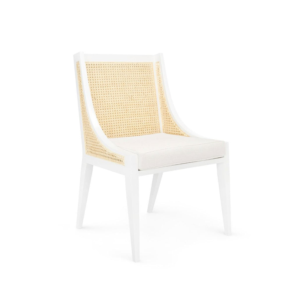 Bungalow 5 - Raleigh Armchair - White-Bungalow 5-Blue Hand Home