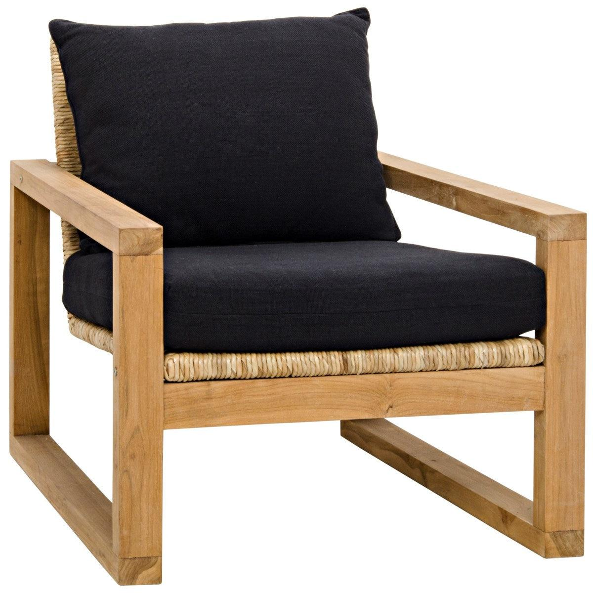 Noir Furniture Martin Chair, Teak-Noir Furniture-Blue Hand Home