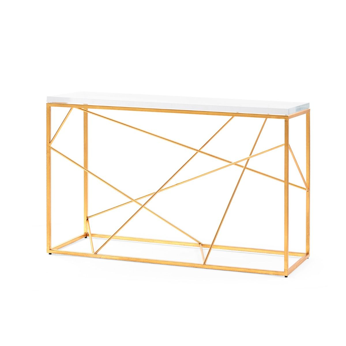 Bungalow 5 - Spiro Console - Gold-Bungalow 5-Blue Hand Home