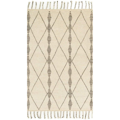 Joanna Gaines Of Magnolia Home - Tulum Collection - Ivory / Pebble - Blue Hand Home