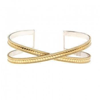 Anna Beck - Exclusive - Single Cross Cuff