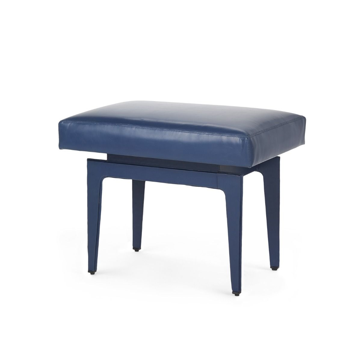 Bungalow 5 - Winston Stool - Navy Blue-Bungalow 5-Blue Hand Home