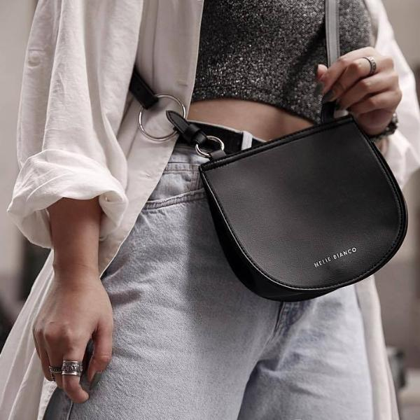 Aly Black Crossbody