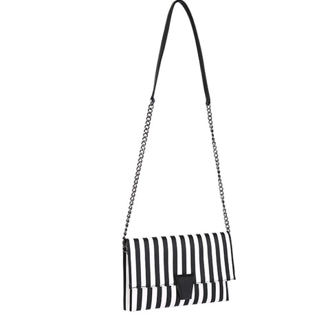 Layla Striped Clutch