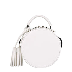 Trixie Small Tassel Crossbody - Melie Bianco - 5