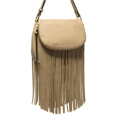 Winnie Fringe Crossbody - Melie Bianco Handbags Accessories