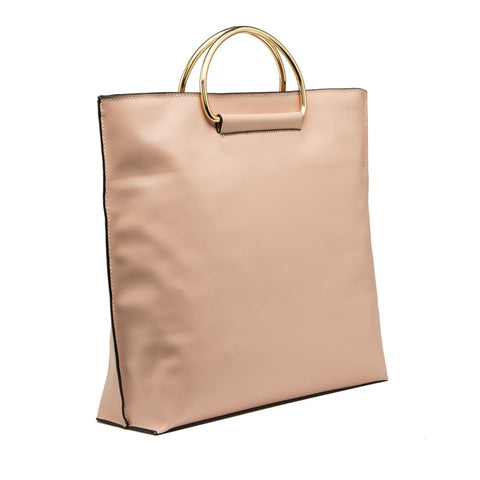Brigitte Metal Handle Tote