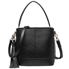 Darla Tassel Bucket Bag - Melie Bianco Handbags Accessories