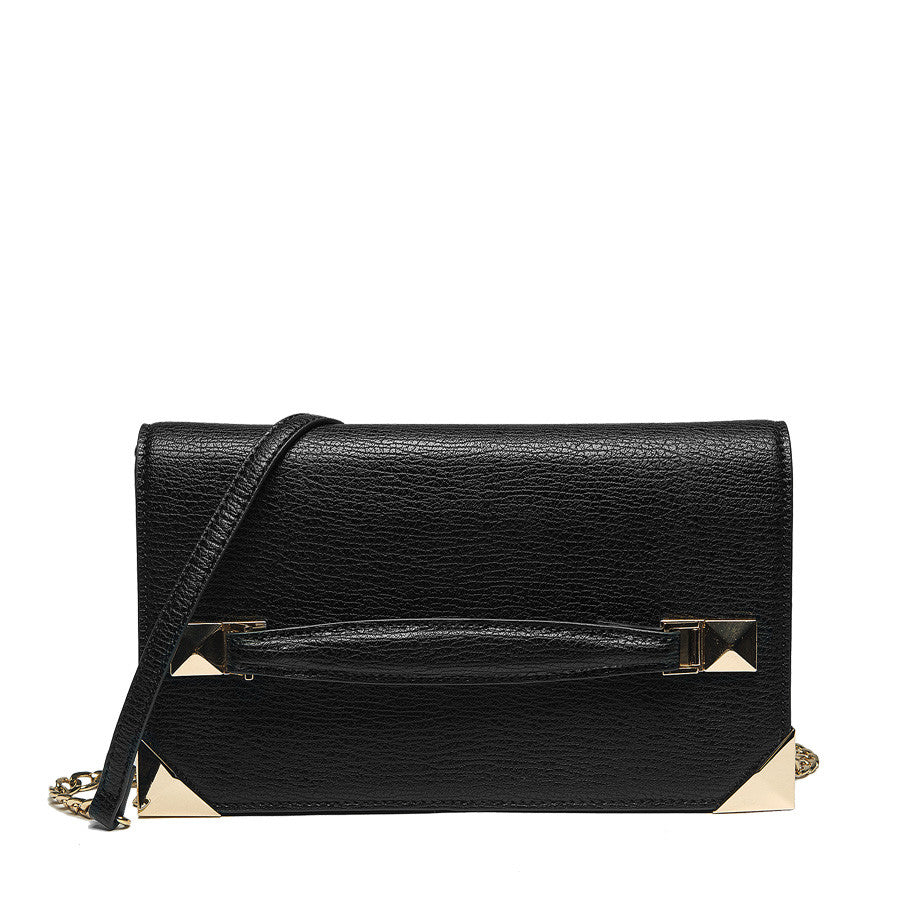 Marlo Front Strap Clutch - Melie Bianco - 2