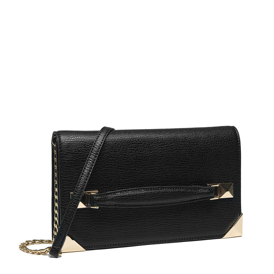 Marlo Front Strap Clutch - Melie Bianco - 1