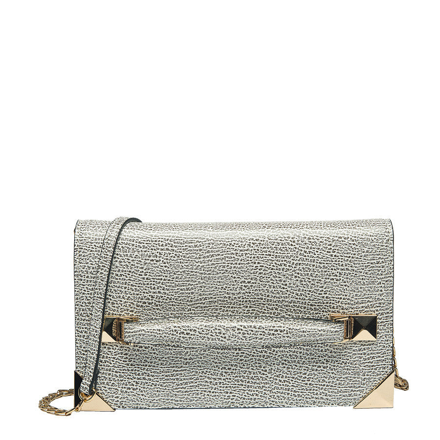 Marlo Front Strap Clutch - Melie Bianco - 6
