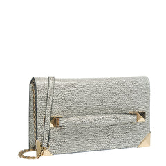 Marlo Front Strap Clutch - Melie Bianco - 5