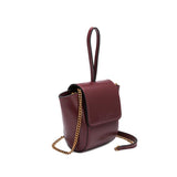 Adele Burgundy Crossbody