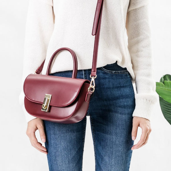 Alba Burgundy Crossbody