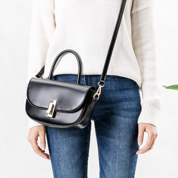 Alba Black Crossbody