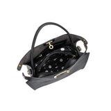 Thea Black Shoulder Bags