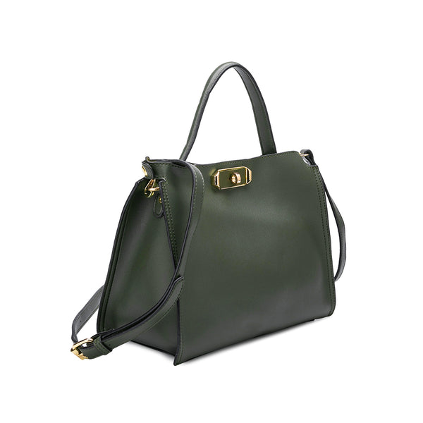 Thea Olive Shoulder Bag