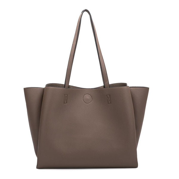 Kaia Taupe Shoulder Bag