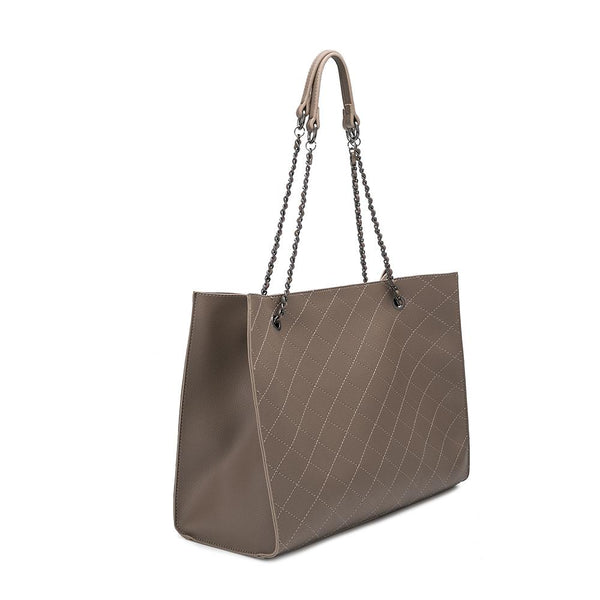 Nova Taupe Shoulder Bag