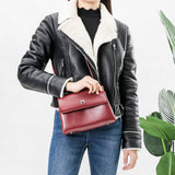Riley Burgundy Crossbody - FINAL SALE