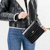 Lena Black Crossbody