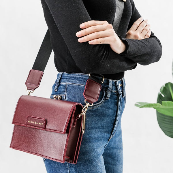 Judy Burgundy Crossbody