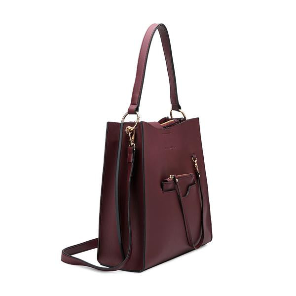 Alice Burgundy Shoulder Bag