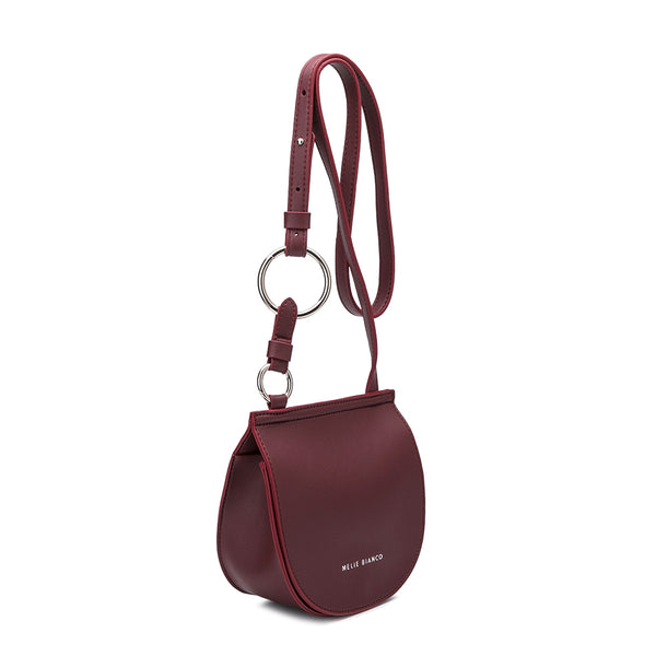 Aly Burgundy Crossbody
