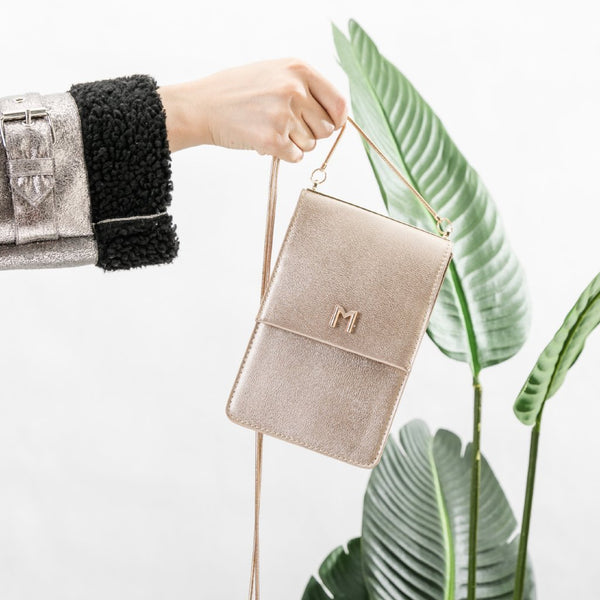 Ellie Gold Crossbody