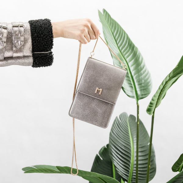 Ellie Pewter Crossbody