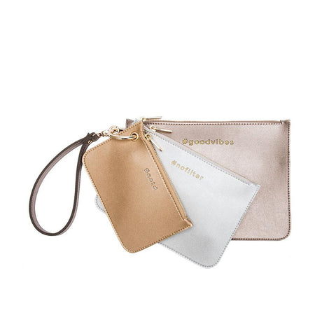 Lexi 3 in 1 Clutch/Wristlet