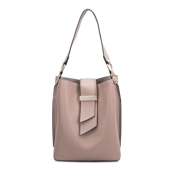 Alessia Taupe Shoulder Bag