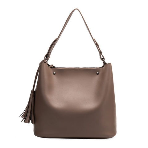 Niccola Taupe Shoulder Bag