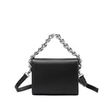 Elle Black Chain Handle Crossbody