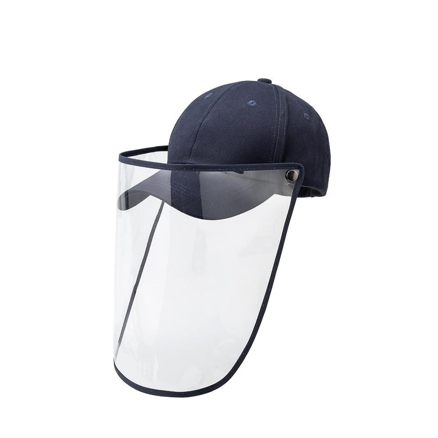 Navy Baseball Cap Face Shield - FINAL SALE