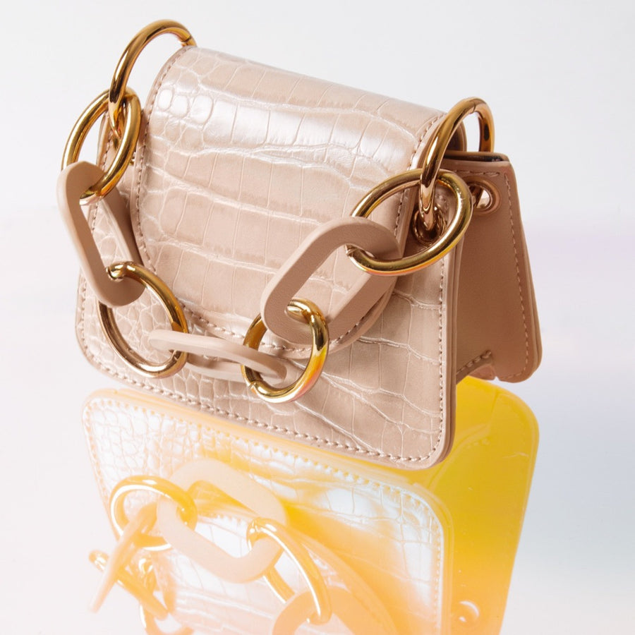 Bella Micro Nude Crossbody