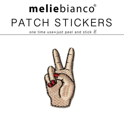 Peace Out Sticker Patch
