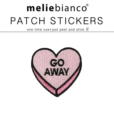 Go Away Sticker Patch