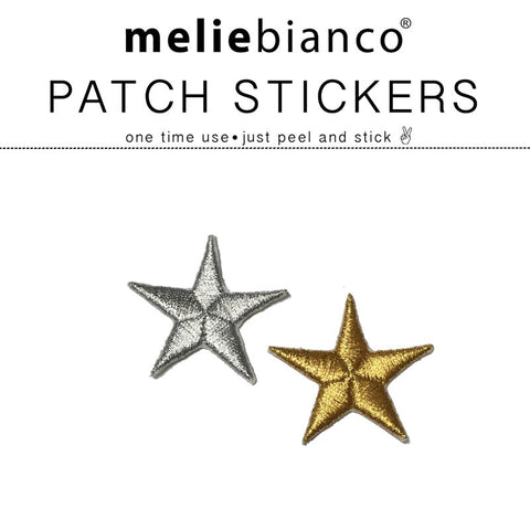 Metallic Stars Sticker Patch