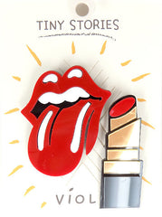 Rock N Roll Acrylic Pin Set - Melie Bianco