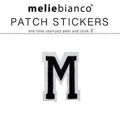 M Varsity Letter Sticker Patch - Melie Bianco